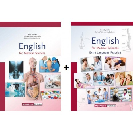 Pakiet: English for Medical Sciences: Podręcznik + ćwiczenia