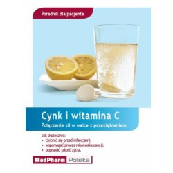 Poradnik dla Pacjenta - Cynk i witamina C - Połączenie sił w walce z przeziębieniem