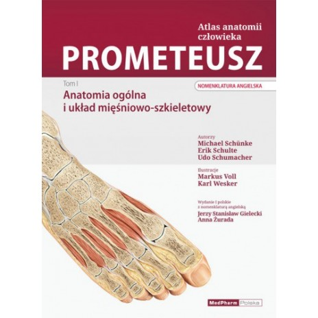 PROMETEUSZ Atlas Anatomii Człowieka. Tom I. Anatomia ogólna i układ mięśniowo -szkieletowy