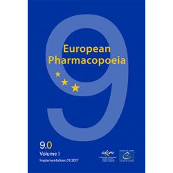 Farmakopea Europejska / European Pharmacopoeia 9th Edition 2017. Main volume 9.0. + Suppl. 9.1. + Suppl. 9.2. Wersja: Książka