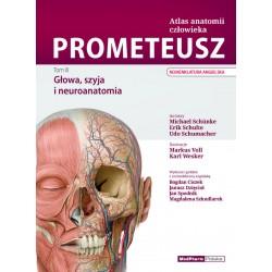 PROMETEUSZ. Atlas Anatomii Człowieka Tom III. Głowa, szyja i neuroanatomia. Nomenklatura angielska