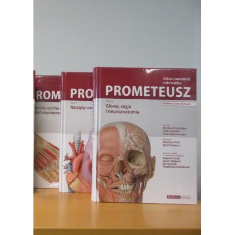Pakiet: Atlas Anatomii Prometeusz - Angielski (3 tomy)