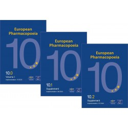 Farmakopea Europejska 10.0 + Supl.10.1 + Supl.10.2 / Europea Pharmacopoeia 10th Main work + Suppl. 10.1. + Suppl. 10.2.