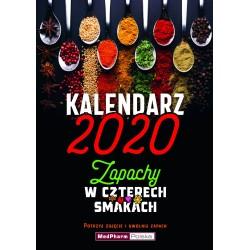 Kalendarz zapachowy 2020 - Zapachy w czterech smakach