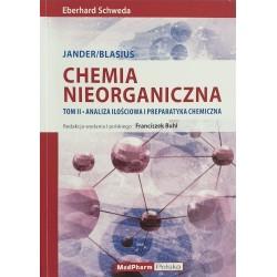 CHEMIA NIEORGANICZNA, Tom II Analiza ilościowa i preparatyka chemiczna